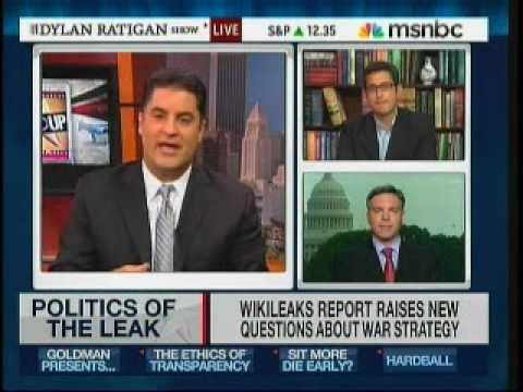 WikiLeaks Documents: Cenk Hosts MSNBC (Sam Seder & Matt Lewis Debate)