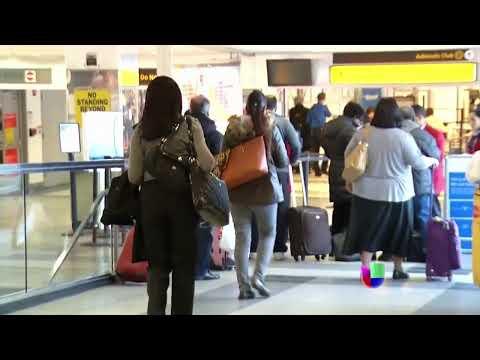 Temor de nuevas amenazas terroristas contra aviones -- Noticiero Univisión