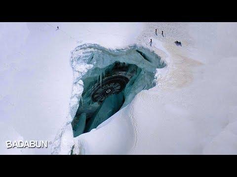 7 Cosas escalofriantes encontradas bajo hielo.