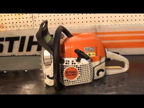 The chainsaw guy shop talk Stihl MS 391 chainsaw 2 16