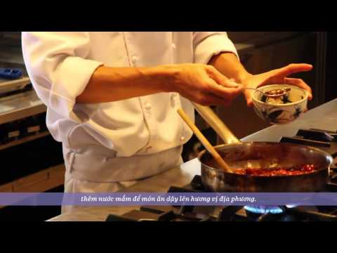Hyatt Regency Danang Resort and Spa | Vietnamese Pork Cheek Stew Cooking Demonstration