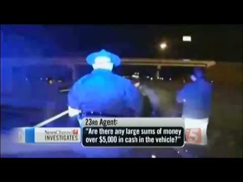 Police STEAL $160,000 from man during Traffic Stop