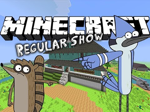 Minecraft | Regular Show! (mordecai & Rigby) | Map Spotlight video