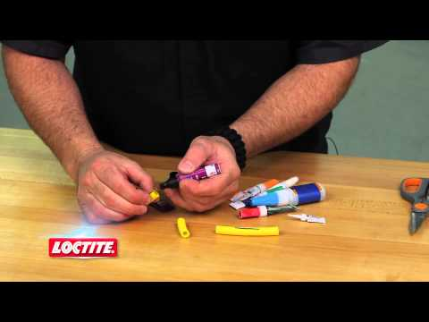 Loctite Super Glue Plastic Bonding System - Great for Rubber Repair!