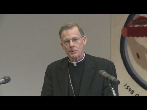 Video:  Archbishop for Santa Fe News Conference