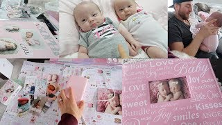 OUR TWINS ARE 2 MONTHS OLD!👼🏻👼🏻TWIN GIRLS UPDATE! -SLMissGlamVlogs💕