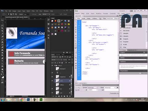 Criando uma Rede Social -  Aula 01 - HTML