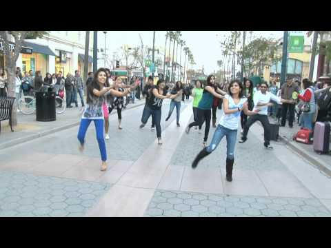 Santa  Monica Bollywood La Flash Mob - Powered By Aaha Media video