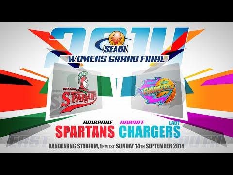 2014 SEABL Women's Grand Final - BRISBANE VS HOBART