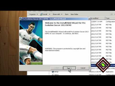 Download PES 2013 ISO Full + Serial + Crack + UPDATE