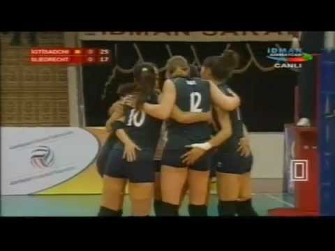 2013 CEV Volleyball Cup - Women: Igtisadchi BAKU VS SLIEDRECHT Sport (23Oct2012), Almost Full Match