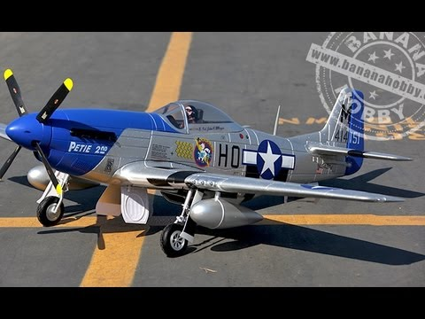 FMS 1400mm P-51 Mustang v7 Review