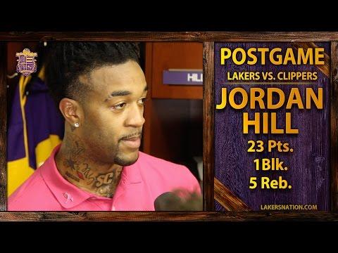 Lakers vs. Clippers: Jordan Hill Has 23 Points, Talks Byron Scott's System