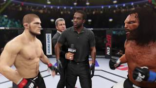 Khabib vs. The Beast (EA Sports UFC 2)