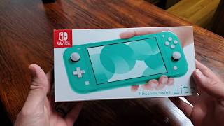 Nintendo Switch Lite Unboxing!!