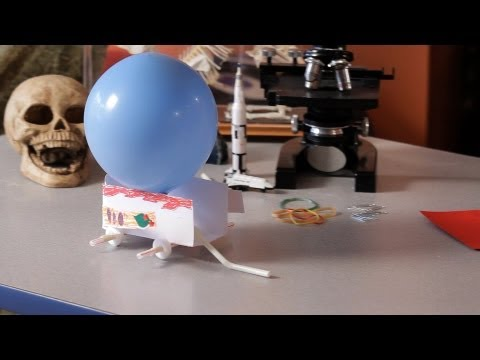 Demonstrate Newton's Third Law of Motion | Science Projects