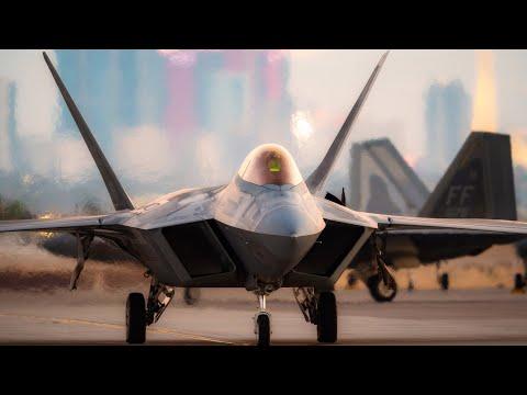 F-22 Raptor - Конкурентов нет / Стелс истребитель пятого поколения