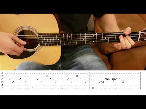 Champagne supernova (Oasis) - Fingerstyle Guitar cover with TABS