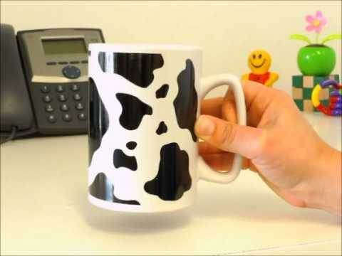 Talking Mug - Cow Are You Today? | OfficePlayground.com
