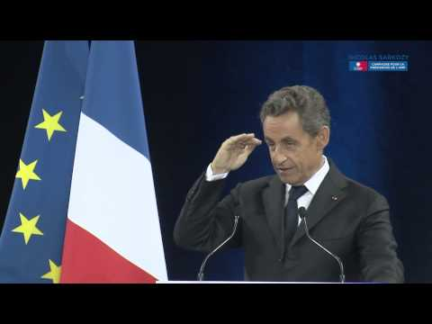 Nicolas Sarkozy en meeting à Mulhouse