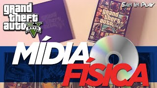 GTA V pra PC em Mídia Física vira com 7 DVD's!