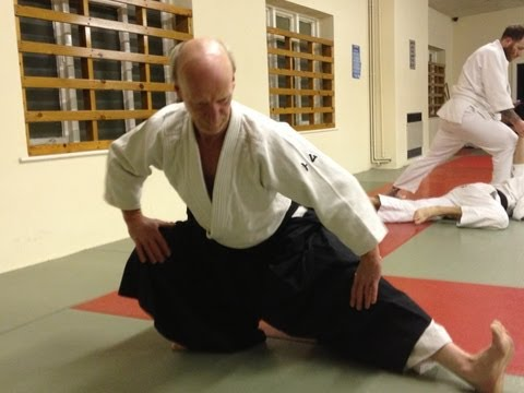 Aikido warm-up exercises / aikido training exercises Image 1