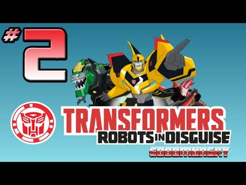 Transformers: Robots In Disguise Video Game - PART 2 - Character Roster, Grimlock & Underbite!