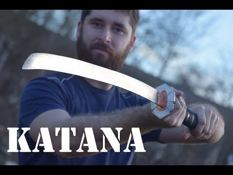 Making Katana from Scraps