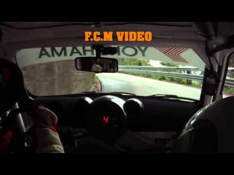CameraCar Rally Bi Ronde dell'Ossola 2011 Longhi – Pirollo Mini JW Cooper WRC 1°Assoluti