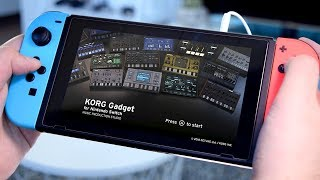 KORG Gadget - A Music Production Studio for Nintendo Switch!