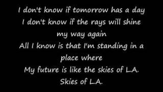 Watch Celine Dion Skies Of LA video