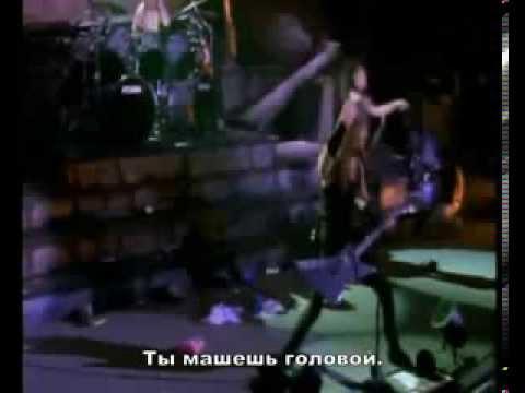 Metallica Whiplash (live Seattle'89) русские титры
