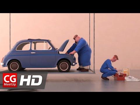 "CGI Animated Short Film HD: ""Voltige Short Film"" by Léo Brunel"