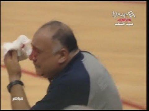 image vid�o  الاهلي يفوز علي النجم الساحلي و المباراة تتحول الى معركة