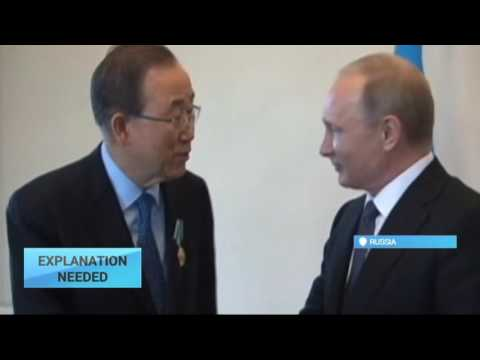 Explanation Needed: Ukraine outraged by UN chief's comments on Russia
