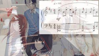[Piano sheet&cover]【クズの本懐 / Kuzu no Honkai】OP「嘘の火花」