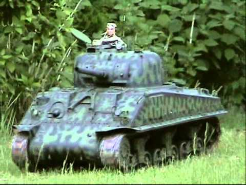 Armortek 1/6th scale RC M4A3 sherman tank