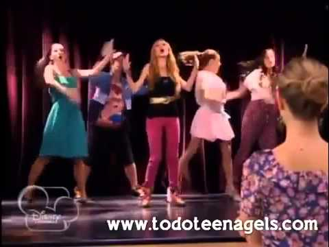 Violetta Capitulo 37 ludmila canta te creo en el ensayo con los maniquies