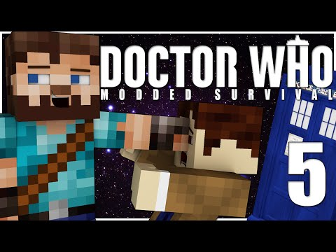 Minecraft   Doctor Who Modded Survival   Ep.5 - SPACESHIPS!