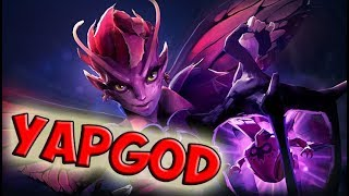 Team Secret Yapzor Dark Willow dota 2 ranked gameplay