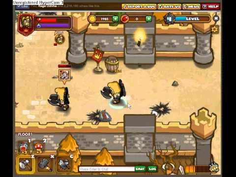 Dungeon Rampage - Starting Gameplay