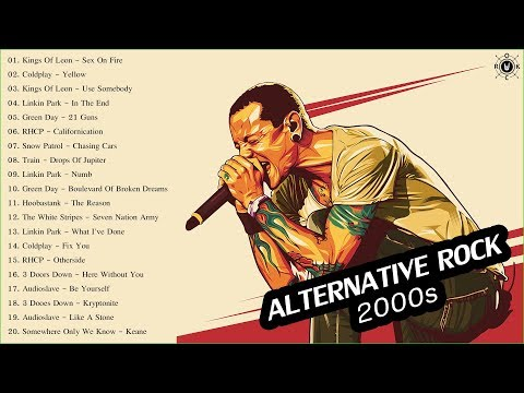 Acoustic Alternative Rock | Top 20 Alternative Rock Songs Of The 2000s