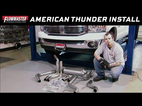 2003-2008 Dodge Ram 2500/3500 5.7L Cat-Back Exhaust System - Kit