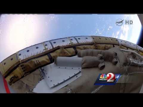 NASA sends saucer on experimental flight