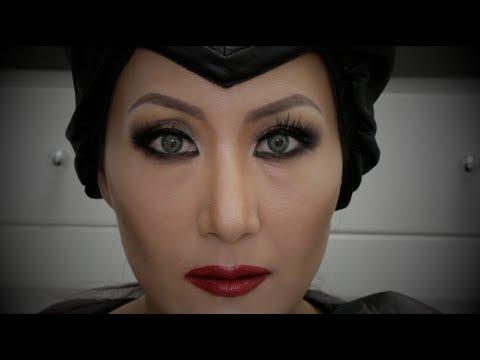 Maleficent Makeup Tutorial - 말레피센트 메이크업 튜토리알
