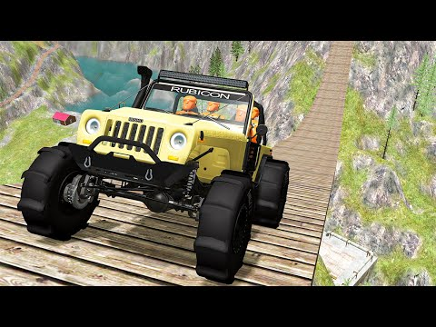 Off Road Crashes and Rally #29 - BeamNG DRIVE | SmashChan