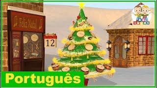 12 Dias de Natal | Canção de Natal | Creche Pré-Escolar | Português