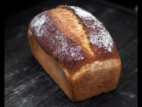 Как сделать тостерный хлеб