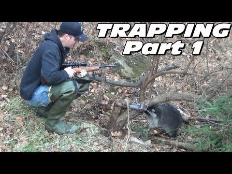 Trapping Furbearers 2013 Part 1