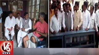 Visaka Charitable Trust Donate Benches To Govt School In Vennampalli Village   Peddaplli